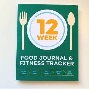 NWT 12 Week Food Journal and Fitness Tracker